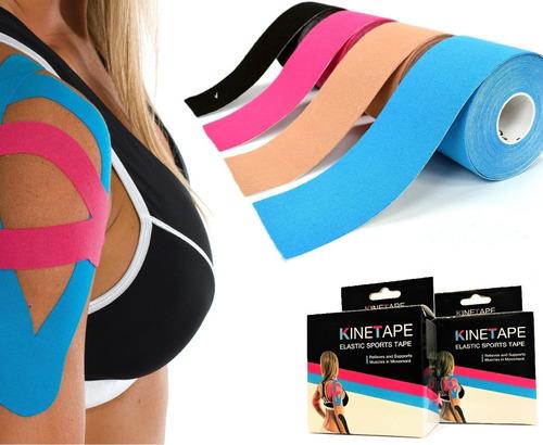 venda kinesiologica cinta terapeutica tape taping premium