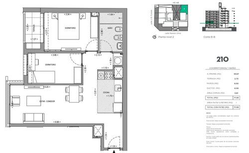 vendo. apartamento. 2 dormitorios. parque batlle. estrena