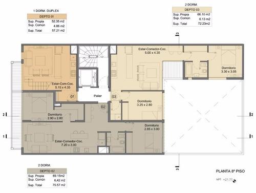 vendo apartamentos a estrenar de un dormitorio en el centro