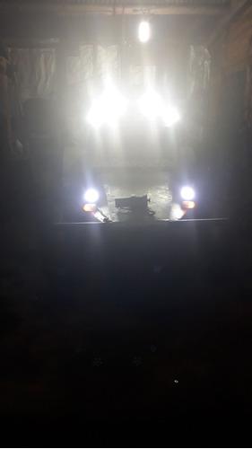 vendo arenero motor gol diesel con malacate y luces led.