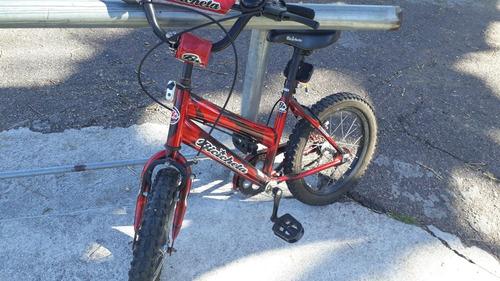 vendo bicicleta rodado 16 en muy buen estado