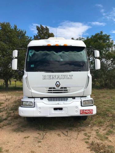 vendo camion renault con volcadora calza unico dueño