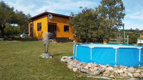 vendo casa en villa serrana monoambiente