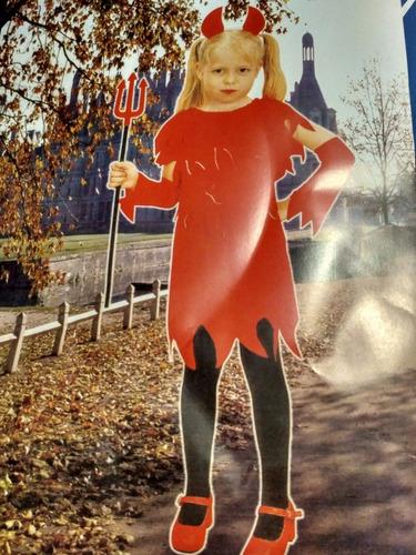 vendo disfraz de diablita o diablito para halloween!
