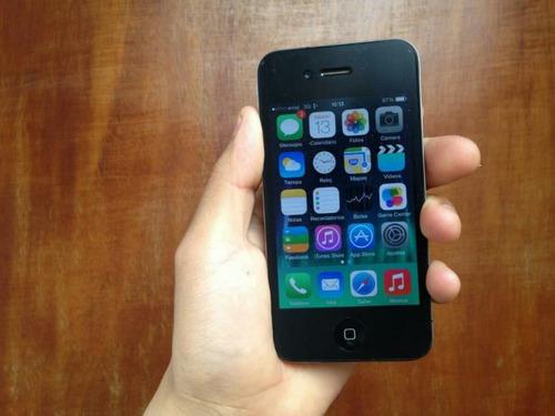 vendo iphone 4  16gb impecable estado para línea claro