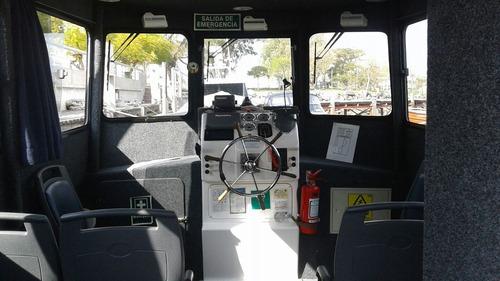 vendo lancha de tráfico rápida con capacidad 20 pers/3500 kg