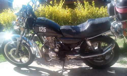 vendo moto winner exclusive tipo custom-50000 kmts impecable