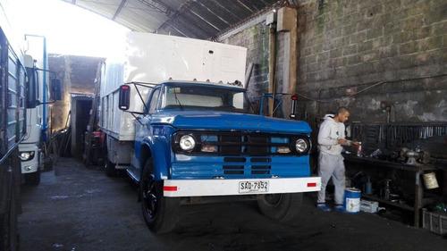 vendo o permuto, camión dodge dp 800 (10 ton)