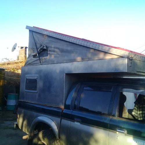 vendo o permuto camper para camioneta doble cabina