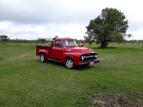 vendo o permuto ford f-100 año 1954