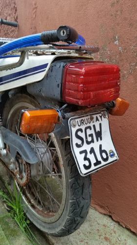 vendo o permuto honda cg cargo 125 cc 1992