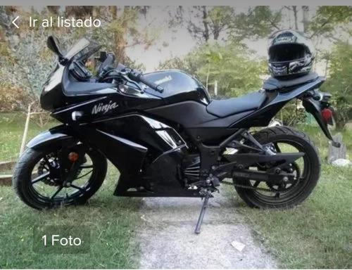 vendo o permuto kawasaki ninja 250 r x moto enduro
