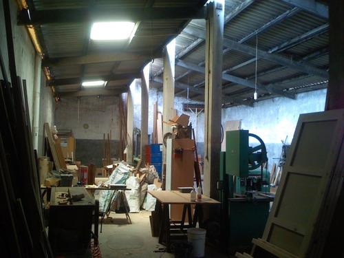 vendo taller de carpintería por cambio de giro