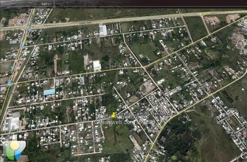 vendo terreno 10000 m2 a metros de perimetral y j. belloni
