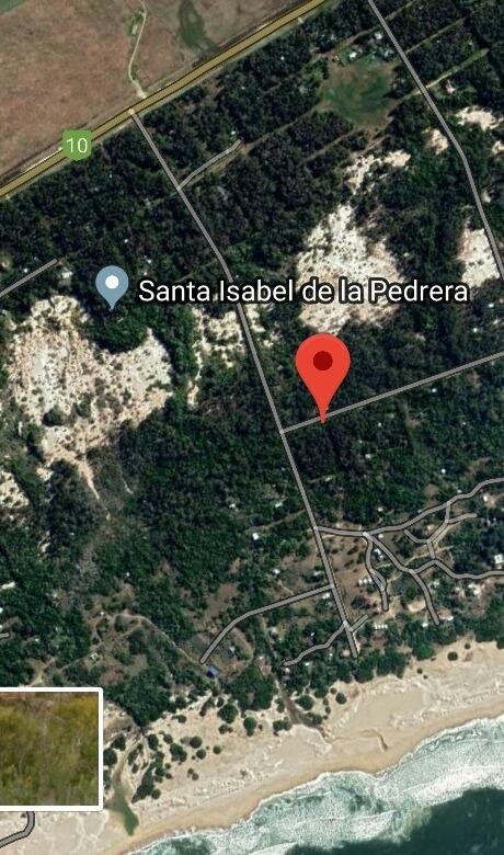 vendo terreno en santa isabel de la pedrera. 099331507