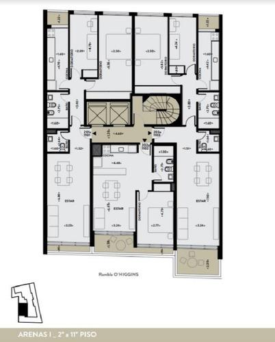 venta. 2 dormitorios con terrazas. rambla. malvin