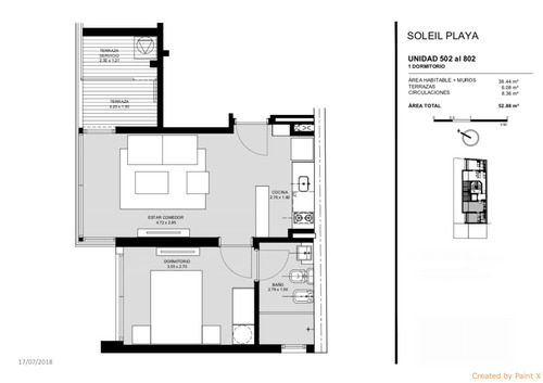 venta apartamento 1 dormitorio estrene en noviembre