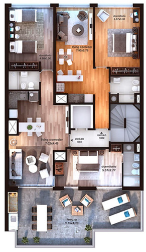 venta, apartamento. 1 dormitorio, pocitos