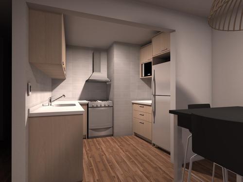venta! apartamento 1 dormitorio y patio en cordón, 2019!