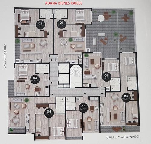 venta. apartamento. 2 dormitorios. barrio sur. en pozo