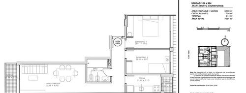 venta! apartamento, 2 dormitorios, centro, a estrenar 2020!