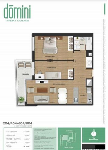 venta. apartamento. 2 dormitorios. cordon. estrena 2020