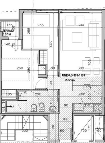 venta. apartamento. 2 dormitorios. la comercial