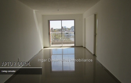 venta apartamento 2 dormitorios, terraza. moderno edificio