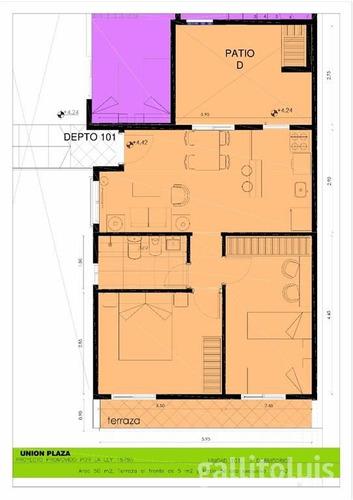venta apartamento unión 2 dormitorios