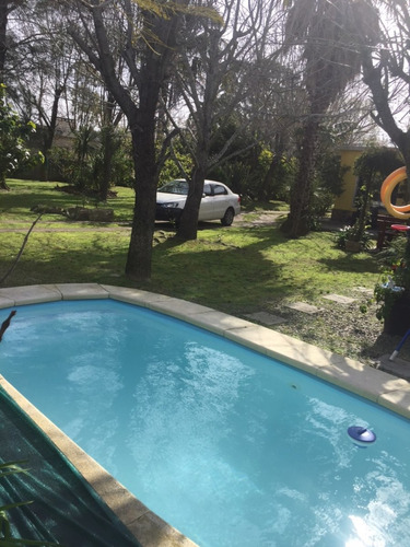 venta casa con piscina en parque del plata, 2 padrones