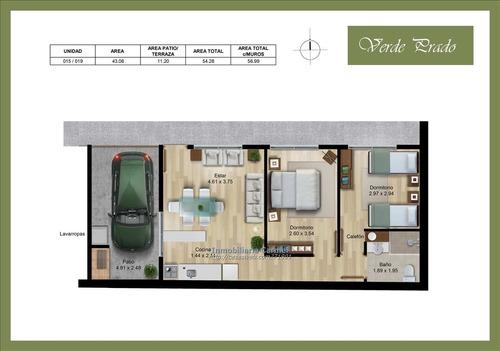 venta de casa prado 2 dormitorios cochera