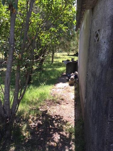 venta de terreno con mejoras en las brujas