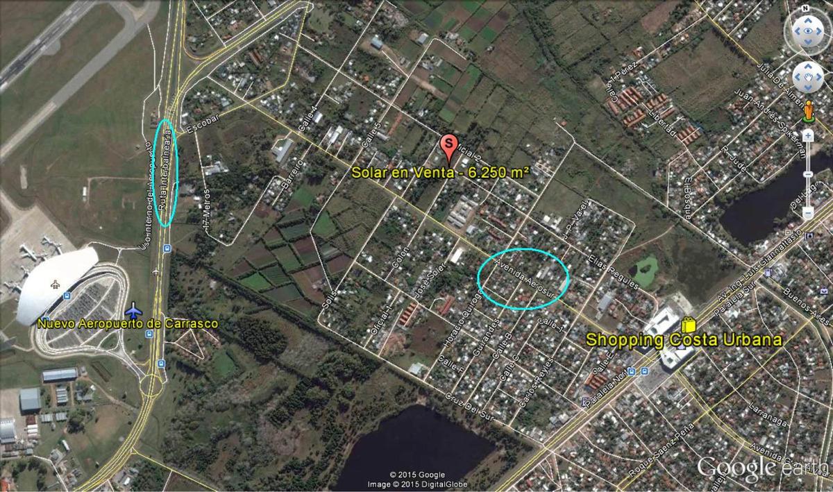 venta exclusiva solar 6.250 m² a pasos de costa urbana shopp