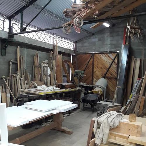 venta galpon industrial - taller o depósito pinar norte