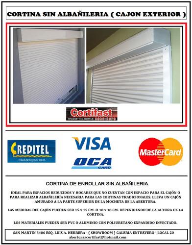 venta - instalación - reparación - service cortinas