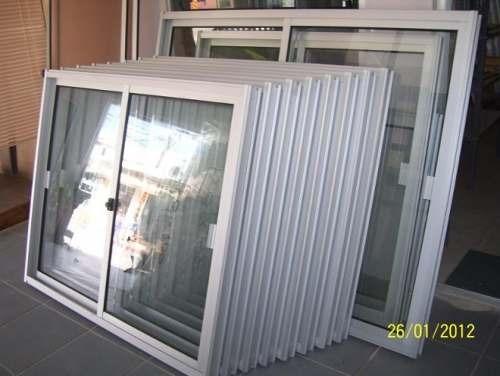 ventana aluminio con