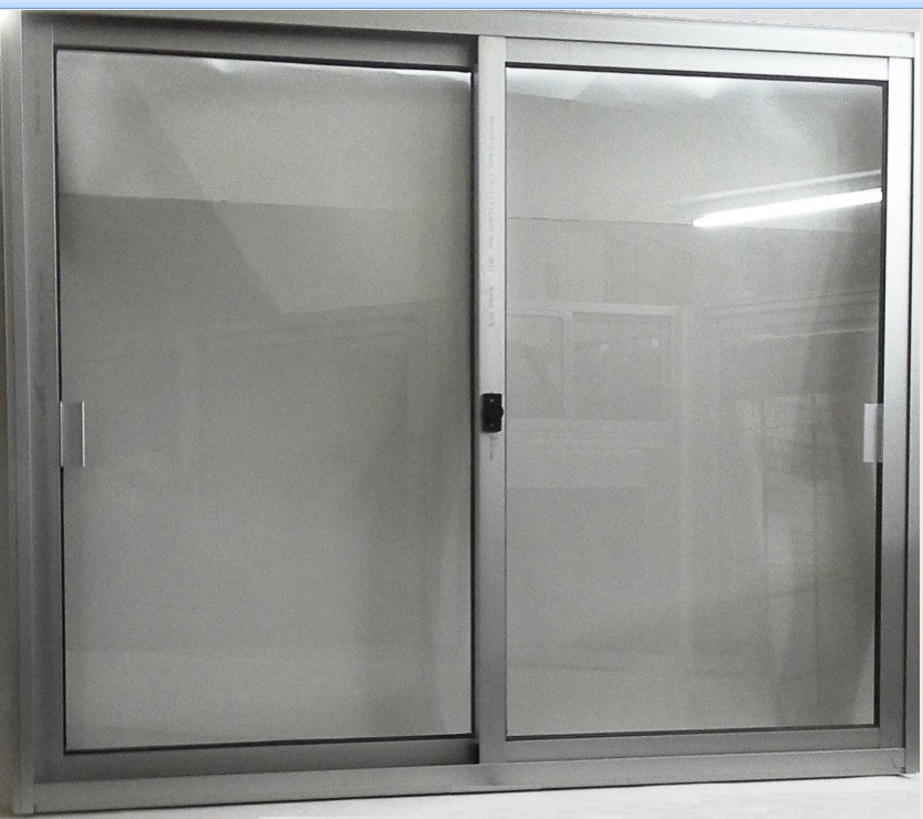 Ventana aluminio nacional serie 20 120 x 100 for Ventanas aluminio color titanio