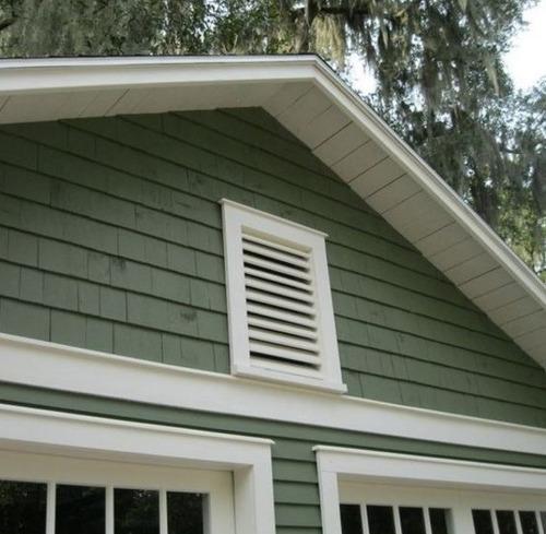 ventana de ventilación para siding vinilico  0.38mx0.38m