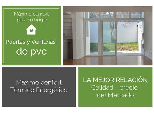 ventana pvc 140 x 100 doble vidrio  corrediza.