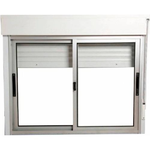 ventana s prima natural con dvh natural 1.5 x 1.2 mts c/cajo