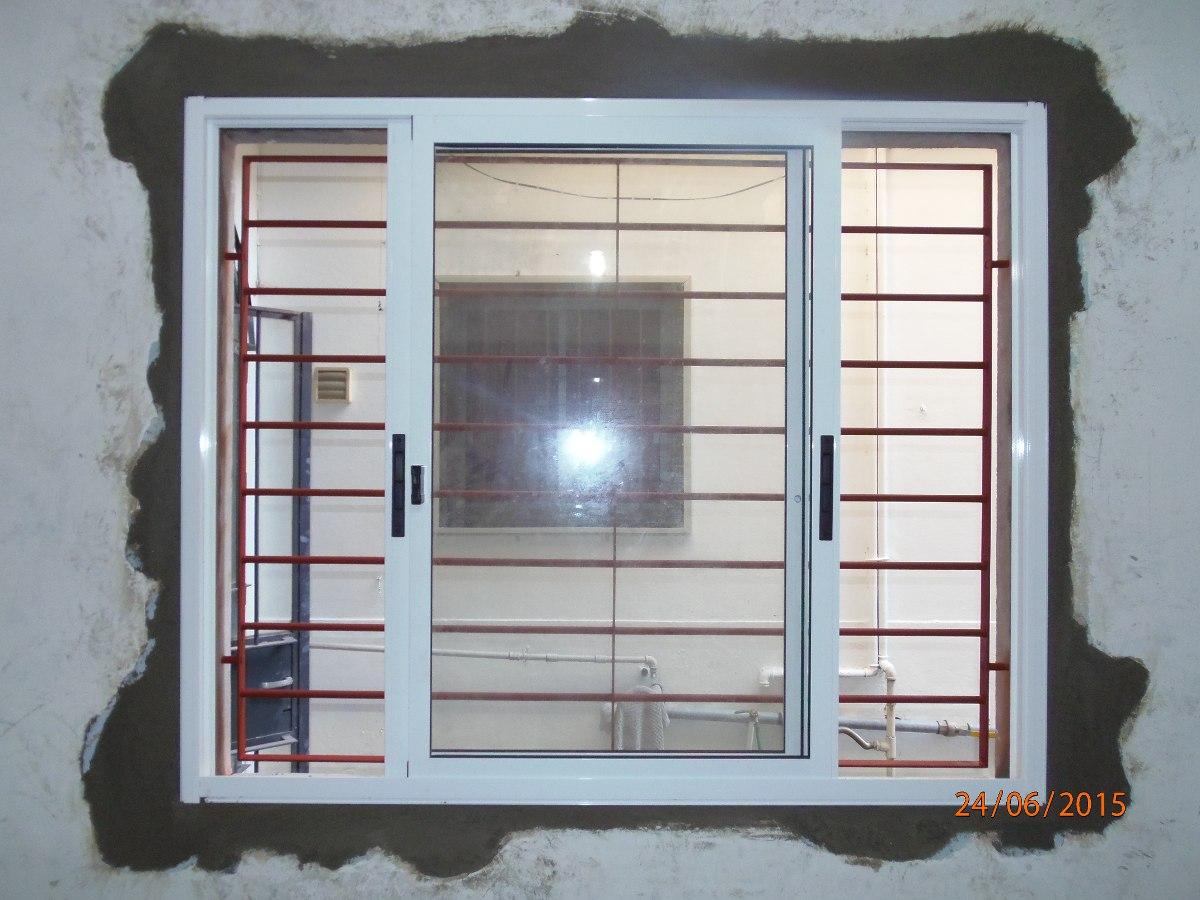 Ventanas aluminio herreria cortinas mamparas cerramientos for Ventanas de aluminio con cortina