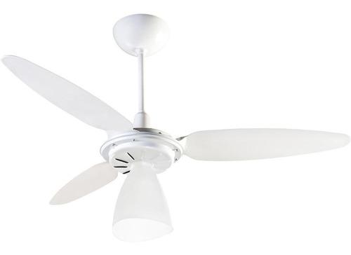 ventilador de techo residencial modelo wind light 130 watt