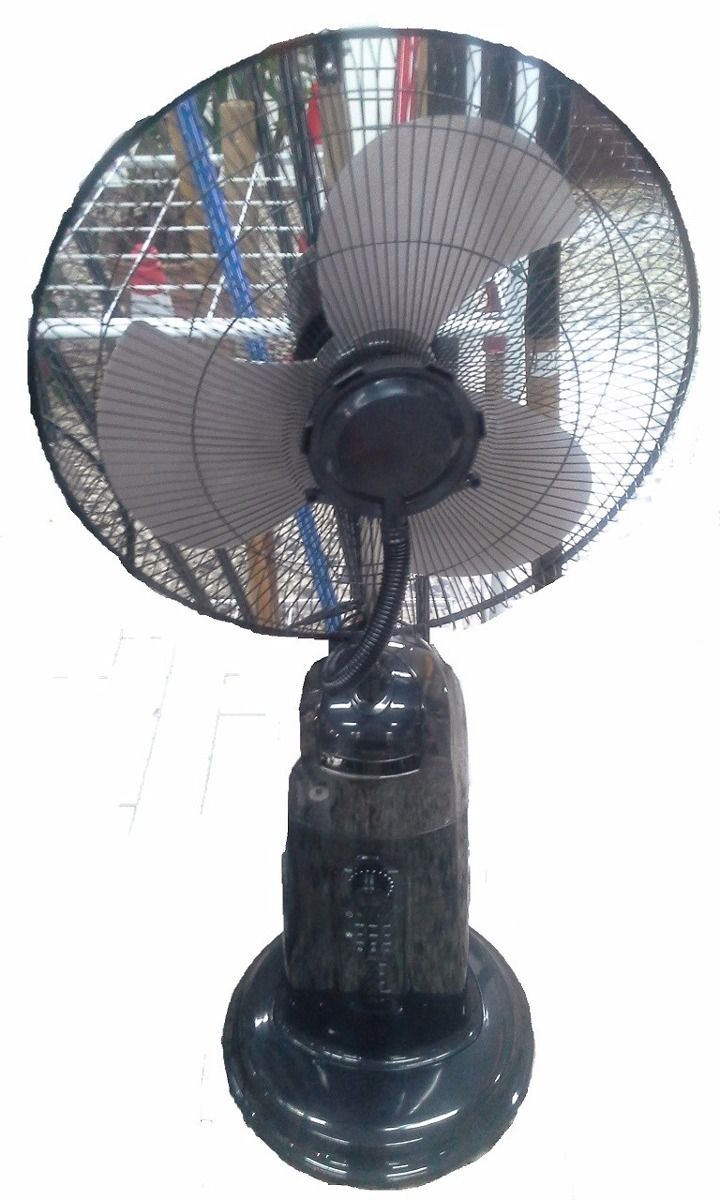 Ventilador Spray Trabaja Con Agua Da Aire Mas Frio C Control