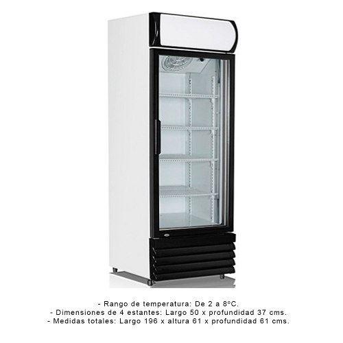 verticales refrigerada vitrinas