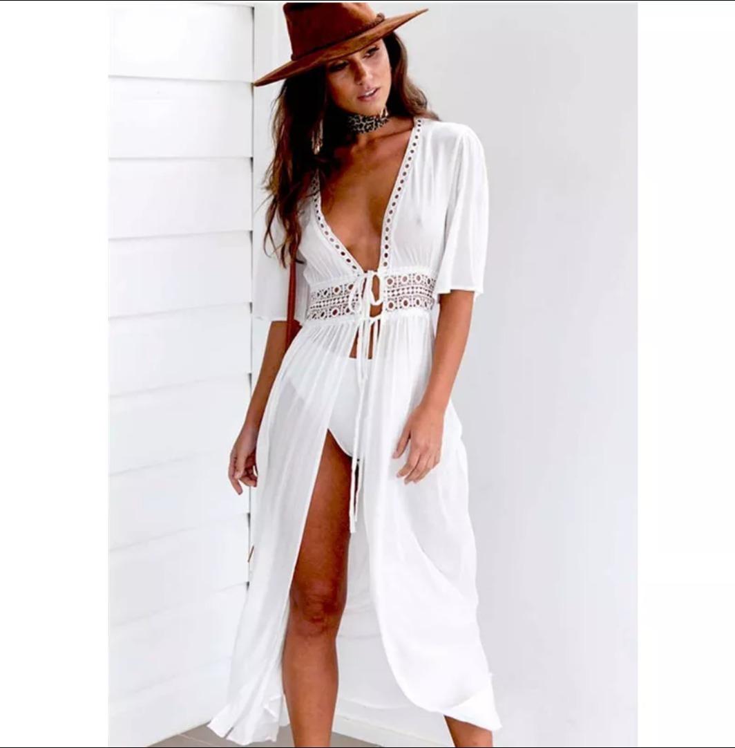 6cc39b73f59 vestido blanco de verano. Cargando zoom.