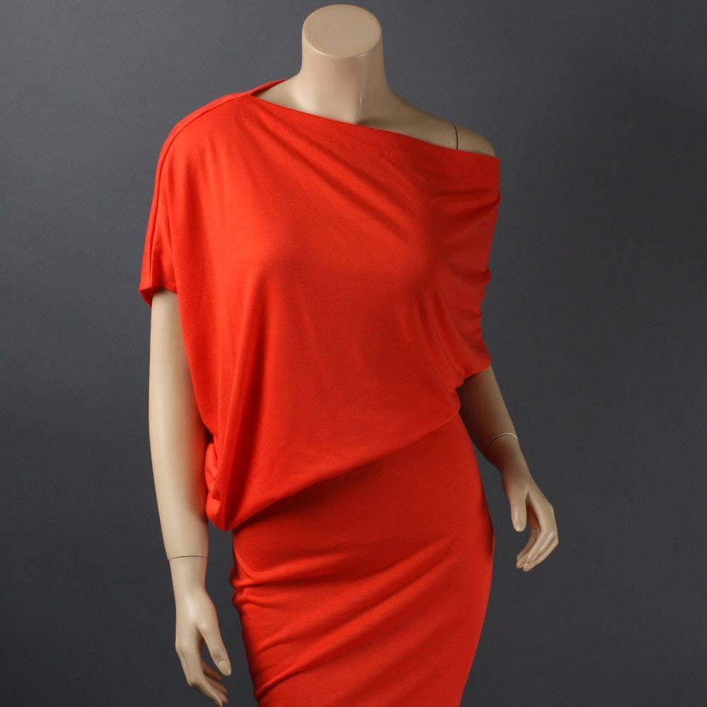 Vestido Blusa Hombro Caido Variedad De Colores
