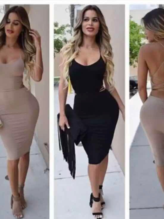 Vestido Casual Moda 2019