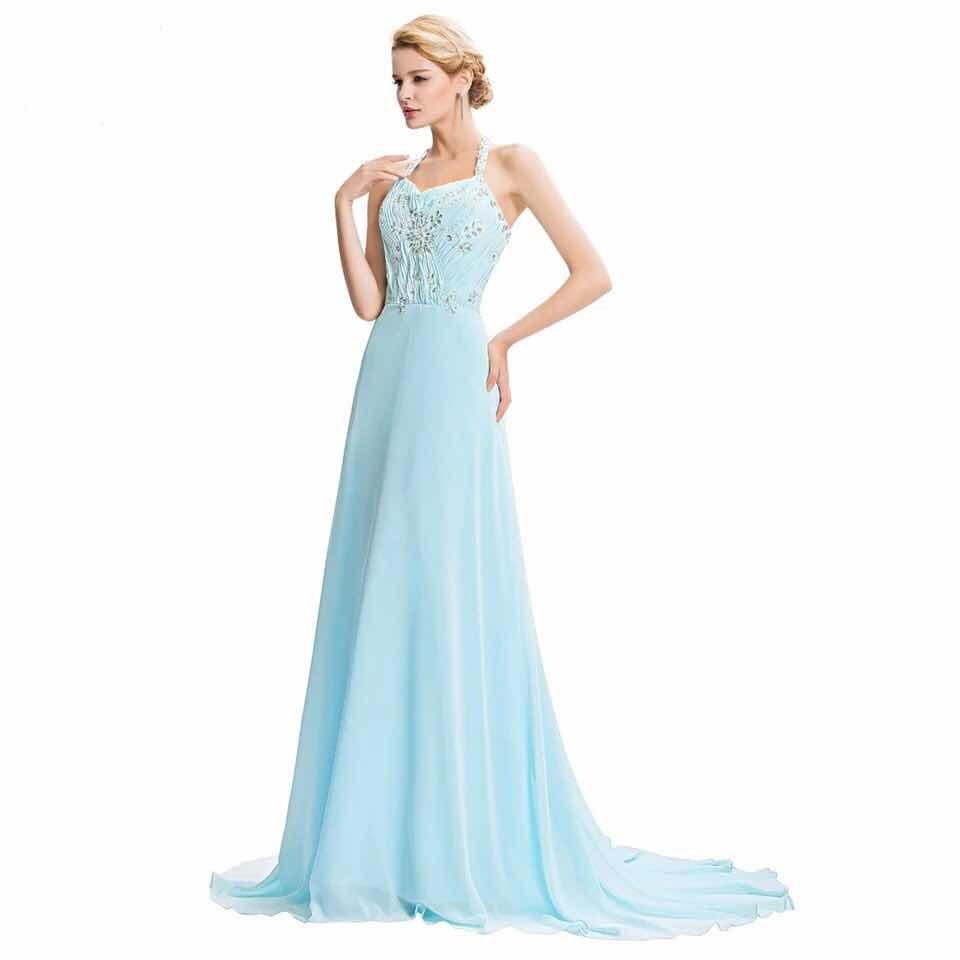 Claro Vestido L Vestido Celeste Talle nkwP08OX