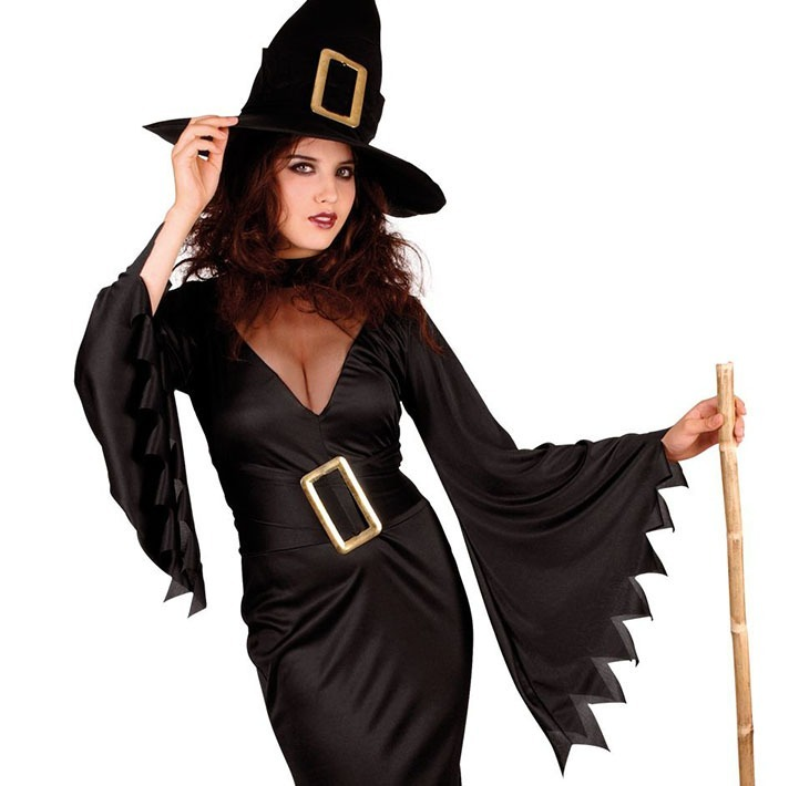 Vestido De Bruja Halloween Effas Party