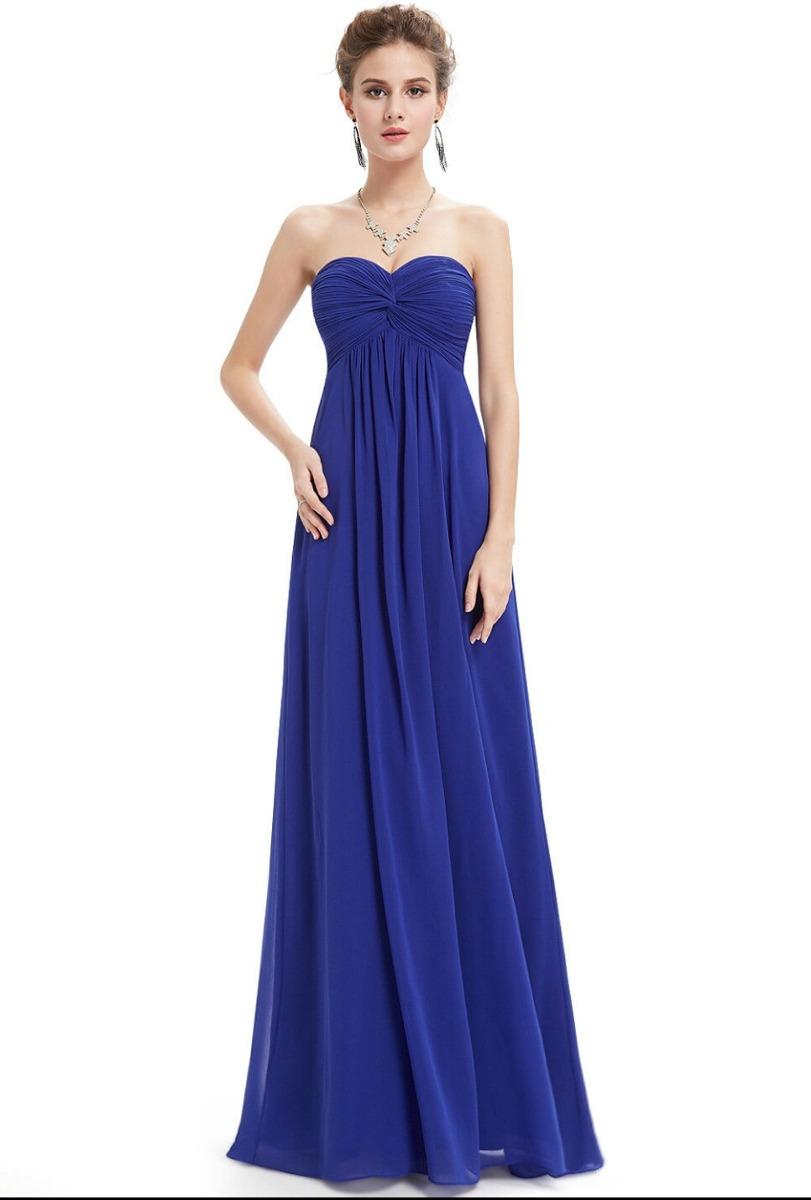 Vestidos de fiesta en azul